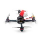 41g Happymodel Crux3 115mm CrazybeeX FR V2.2 F4 AIO ESC 25 / 200mW VTX 1-2S 3 Inch Tusuk Gigi FPV Racing Drone BNF w / 1202.5 Motor Caddx ANT 1200TVL Kamera Mendukung Insta360 Go