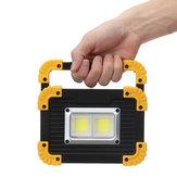 20W穂軸LEDの仕事ライト携帯用USBのフラッドライトランプの屋外のキャンプの緊急のランタン