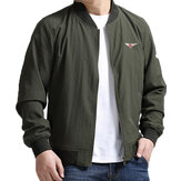 Plus Размер S-5XL Loose Spring Varsity Jacket Flight Jacket