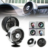 5W 5V Car Cooling Fan 3-Level Adjustable USB Rechargeable Mini Colorful Fan Outdoor Travel