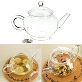 250ml 8.5oz Glass Teapot Heat Resistant Tea Kettle
