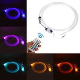 Glasvezel Licht RGB 300st Kabel Plafond Autodak Ster Licht 2M Afstandsbediening