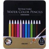 Deli 6507 12 couleurs Fournitures scolaires crayon de couleur