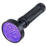 Mor UV Ultra Violet 100 LED El Feneri Blacklight Işık Denetimi Lamba Torch