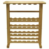 Winsome Wood Vinny 24 bouteilles Winee Rack Naturel Finitions multiples Winee Rack Tools