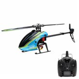 Everyine E160 6CH Dual Brushless 3D6G System Flybarless RC Helicopter RTF متوافق مع FUTABA S-FHSS