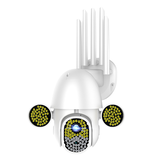 Bakeey 172 LED 5MP IP Camera Infrared Night Vision Two Way Audio HD 1080P CCTV Waterproof Security Camera