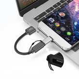 Mini micro usb para Type C usb 3.0 Conector conversor adaptador para macbook telefone tablet