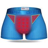 Sous-vêtementsdesportpourhommesPanties Shorts Boxershorts Traitement magnétique Respirant Séchage rapide
