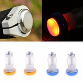BIKIGHT LED Bike Bicycle Handlebar Light Cycling 2 Modes Red Warning Safety End Plug Lamp