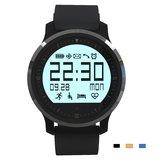 Tasso di cuore di Bluetooth di f68 orologio da polso di sport di schermo di contatto di orologio intelligente ip67 impermeabile per androide e IOS