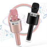 N6 bluetooth 5.0 karaoké LED lanterne choc basse diaphragme voix magique maison KTV beau son HD Microphone de qualité