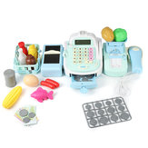 Supermarket Till Kids Cash Register Toys Gift Set Child Girl Shop Role Play Gifts