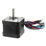 Anet® 42mm liniowy hybrydowy dwufazowy silnik krokowy 1,8 ° 0,4NM do drukarki 3D
