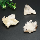 30g/50g/80g/100g Natural Crystal Quartz Cluster Specimen Healing Mineral Decorations