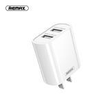 Remax RP-U35 Dual USB شاحن محول Fast شحن For iPhone XS 12 11Pro Mi10 S20 +