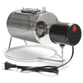 Stainless Steel Coffee Bean Roasting Machine Coffee Roaster Roller Baker 220V Tools