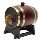 1.5L النبيذ البلوط برميل خشبي برميل مع حنفية للنبيذ النبيذ البيرة