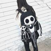 Women Halloween Skull Backpack Anti-theft Backpack
