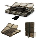 Vouwbaar 12 Slot SIM / Micro SD / TF Geheugenkaart Opbergdoos Dooshouderbeschermer
