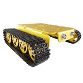 T200 Kit de robot inteligente de tanque de chasis de metal de aleación de aluminio Coche para Arduino - productos que funcionan con placas oficiales Arduino