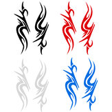 Car Van Racing Body Stripe Pinstripe Hood Side Decals Vinyl Stickers