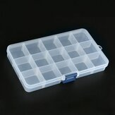 15 Grid Adjustable Electronic Components Project Storage Assortment Box Bead Organizer Jewelry Box Plastic Storage Case