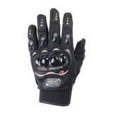 Off-road Riding Gloves Touch Screen Motorcycle MTB Bicycle Bike Sport Full Finger Warm Black