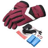 7.4 V 2800 mah Waterdichte Batterij Thermische Verwarmde Handschoenen Voor Motorcycle Racing Winter Warmer