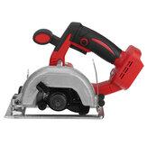 Máquina de corte com serra circular elétrica vermelha de 5 polegadas 10800 RPM para Makita 18-21V Bateria