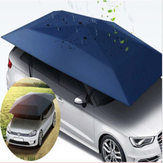 400 * 210 cm 210D Oxford Cloth Car Shelter Ombrello Tenda Tetto Copertura Ombra Tetto Impermeabile Anti UV