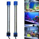 Acuario Impermeable luz LED Bar Fish Tank Submersible Down Light Tropical Acuario Producto 2.5W20CM