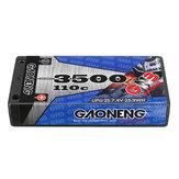 Gaoneng GNB 7.4V 3500MAH 2S 110C Lipo Batería T Plug Para 1/12 RC Coche