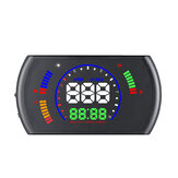 S600 5.8 Polegada Universal Car Head Up Display OBD2 RPM Velocímetro Medidor de Aviso Digital
