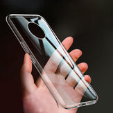 Bakeey for POCO X3 NFC Case Crystal Clear Transparent Ultra-Thin Non-Yellow Soft TPU Protective Case