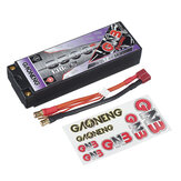 Gaoneng 7.6V 8500mAh 130C 2S HV Lipo Battery T Plug for 1/10 RC Car