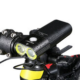 GACIRON1600LMbicicletafaroldianteiro ciclismo bicicleta recarregável lanterna IPX6 impermeável 5000mAh poder banco bicicletas acessórios