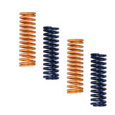 12Pcs Set 8x25mm Blue/Yellow Flat Bed Leveling Spring / Extruder Spring for 3D Printer