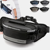 Men Waterproof Anti theft Reflective Outdoor Chest Bag Belt Bag Waist Bag