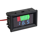 12V-60V LED Digital Voltmeter Voltage Meter Battery Gauge For Car Marine Motorcycle