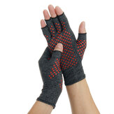 1 Pair Compression Arthritis Gloves Arthritic Joint Pain Relief Hand Gloves Therapy Open Fingers Compression Mittens