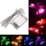 2M 20 LED Batterij Powered Christmas Wedding Party String Fairy Light