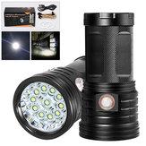 XANESXM11T611xLEDs3 طرق 2500Luminens USB Rechargeable LED Flashlight & القوة Bank