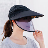 Unisex Anti-fog Removable Mask For Full Protection Sun Hat