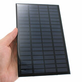 2pcs 18V 2.5W Mini Polycrystalline Solar Panel Photovoltaic Panel for DIY
