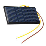Portable Mini 5V 60mA 0.3W Solar Epoxy Panel