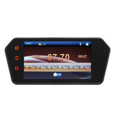 7 inch LCD Bluetooth Monitor Touch Screen MP5 HD Terugkeren Camera Car Achteruitzicht Parkeren