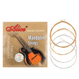 Alices AM05 Mandolin Strings Set 0.011-0.040 Coated Copper Alloy Wound Plated Steel 4 Strings
