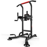 4 in 1 Heavy Duty Power Tower Chin Up Station Body Pull Up Bar Dip Knee Raise Power Fitness Equipment