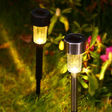 Plastic/Metal Material Auto Sensing LED Solar Lamp Garden Lamps for Outdoor Patio Lawn